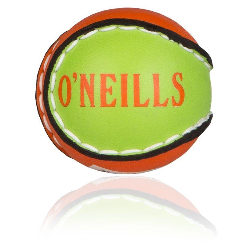 County Kidz Hurling Ball (Flo Orange/Lime)
