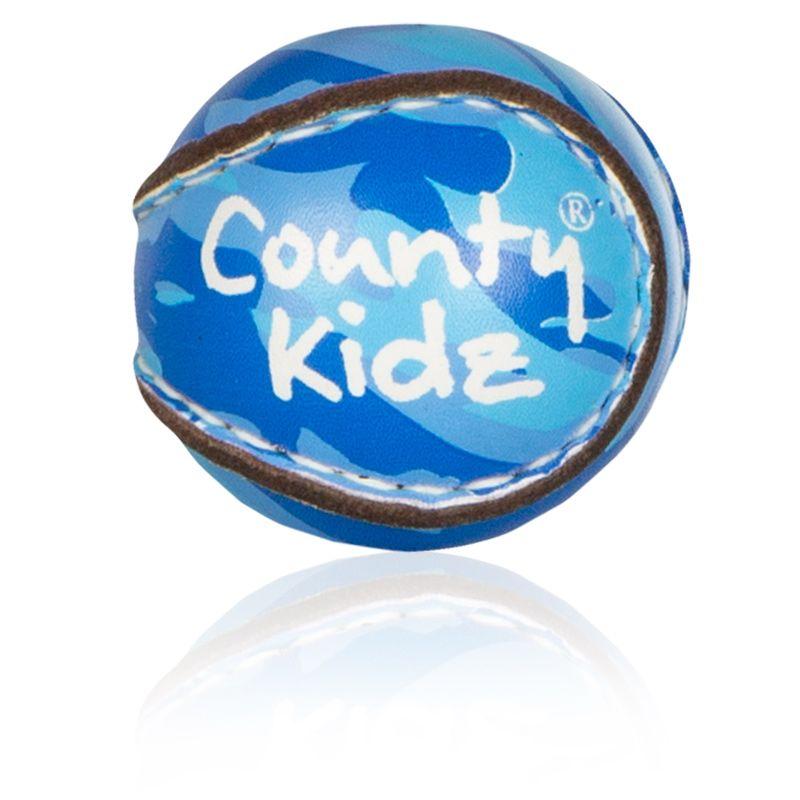County Kidz Gaelic Hurling Ball (Royal/Sky Camouflage)