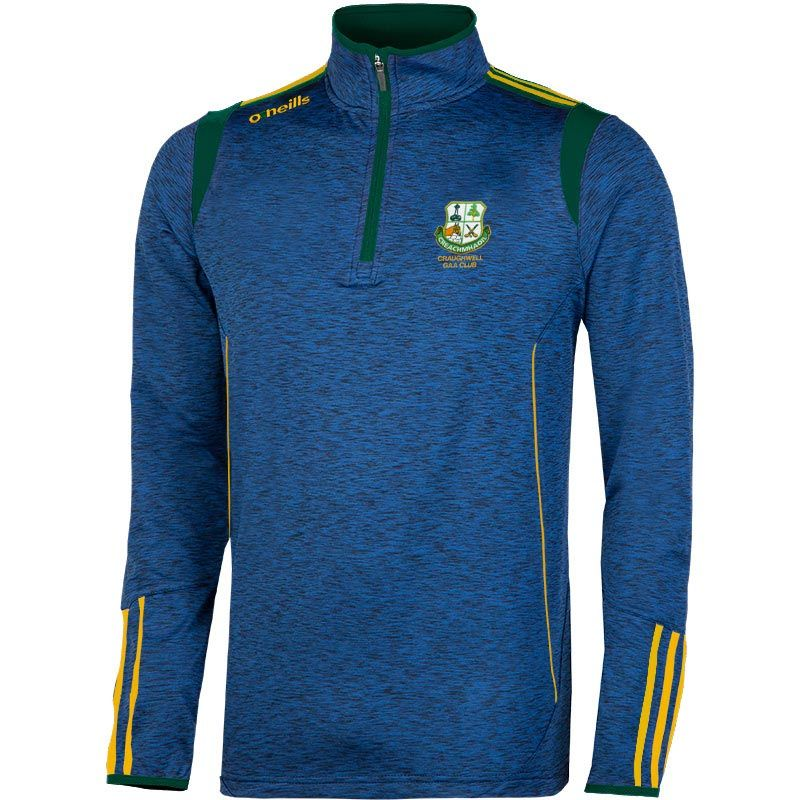 Craughwell GAA Solar Brushed Half Zip Top Kids