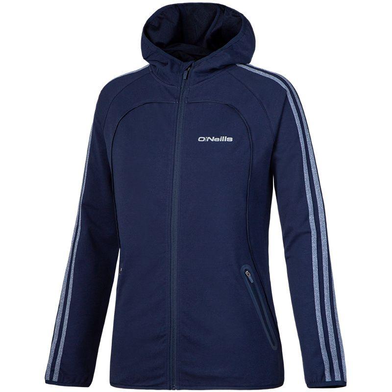 Women's Dakota 3S Full Zip Fleece Hooded Jacket Marine
