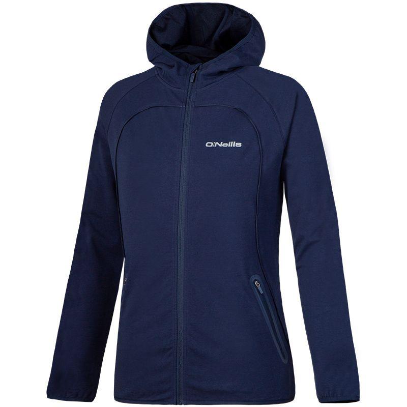 Women's Dakota Full Zip Fleece Hooded Jacket Marine