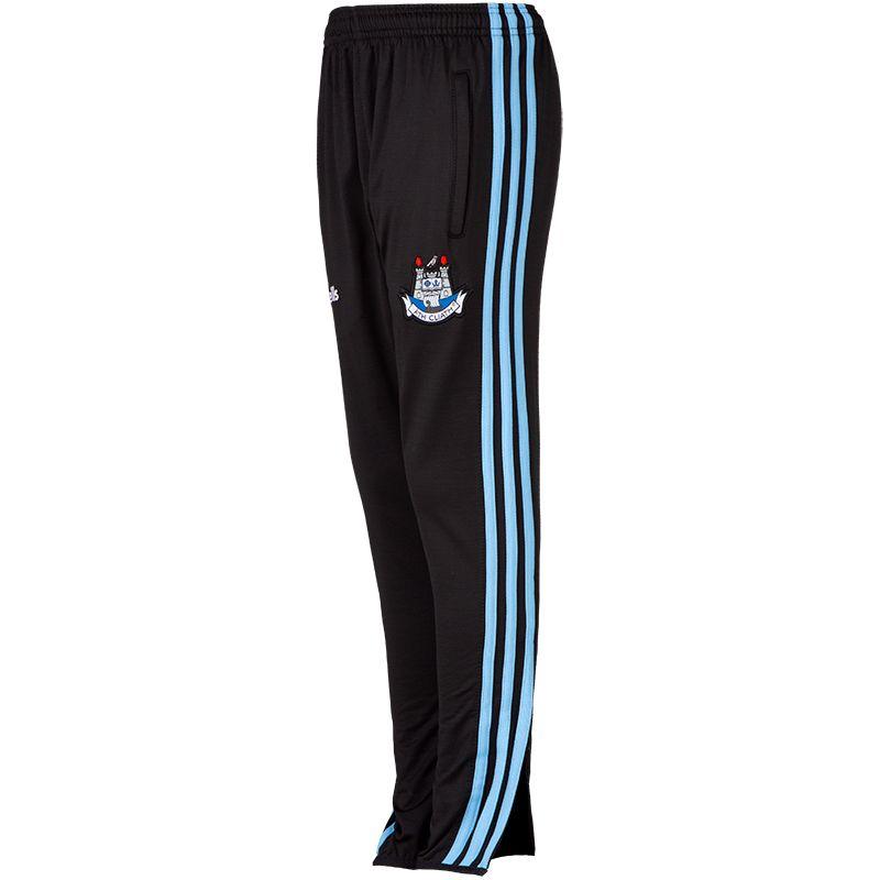 Dublin GAA Kids' Dawson Brushed Skinny Pants 3S Black / Sky / White