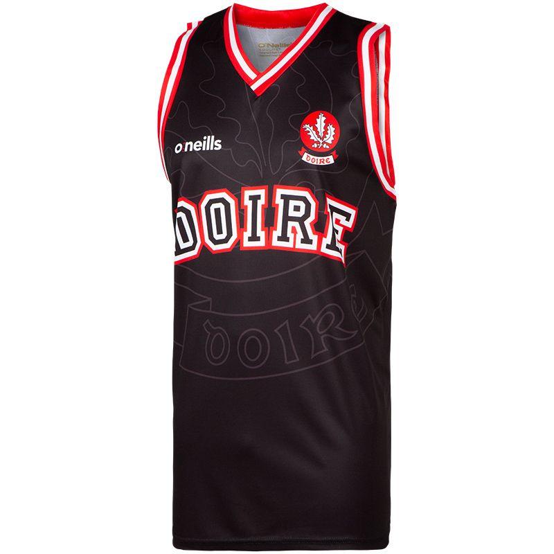 Derry GAA Basketball Vest