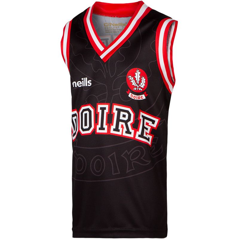 Derry GAA Kids' Basketball Vest