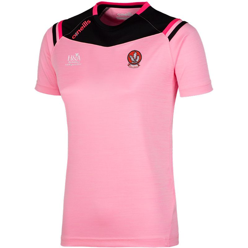 Derry GAA 2S Colorado T-Shirt (Mel Tonal Cotton Candy/Black/Knockout Pink)