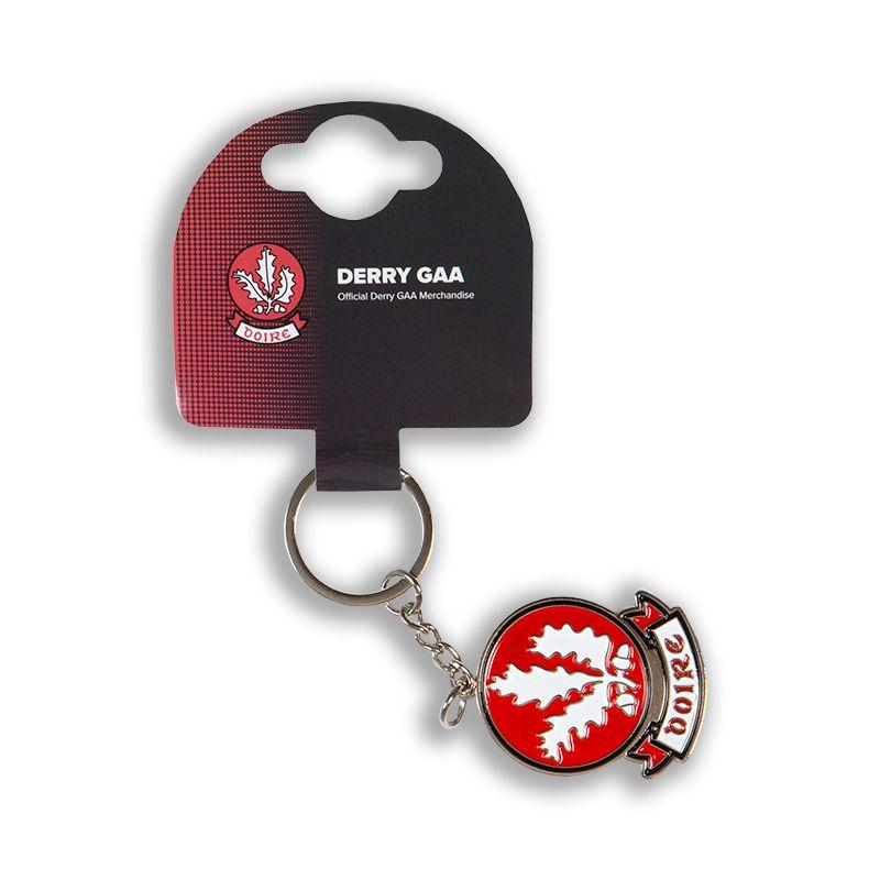 Derry GAA Crest Keyring