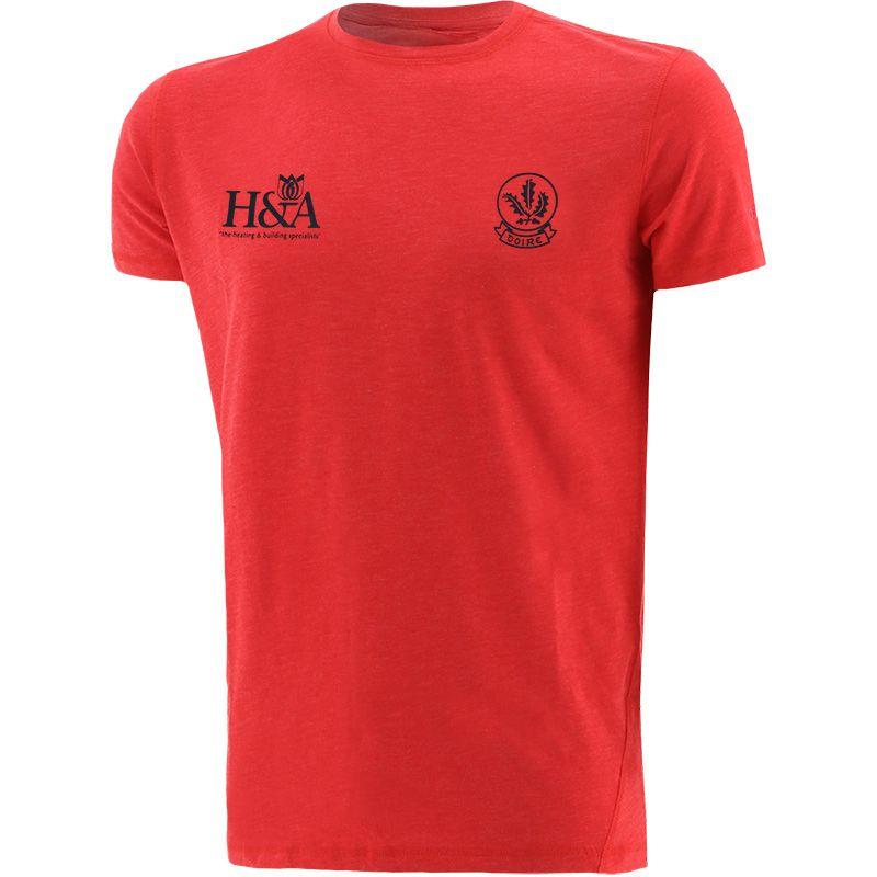 Derry GAA Men's Kingston T-Shirt Red