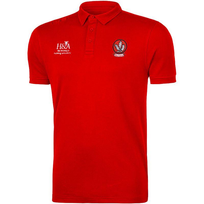 Derry GAA Pima Cotton Polo (Red)
