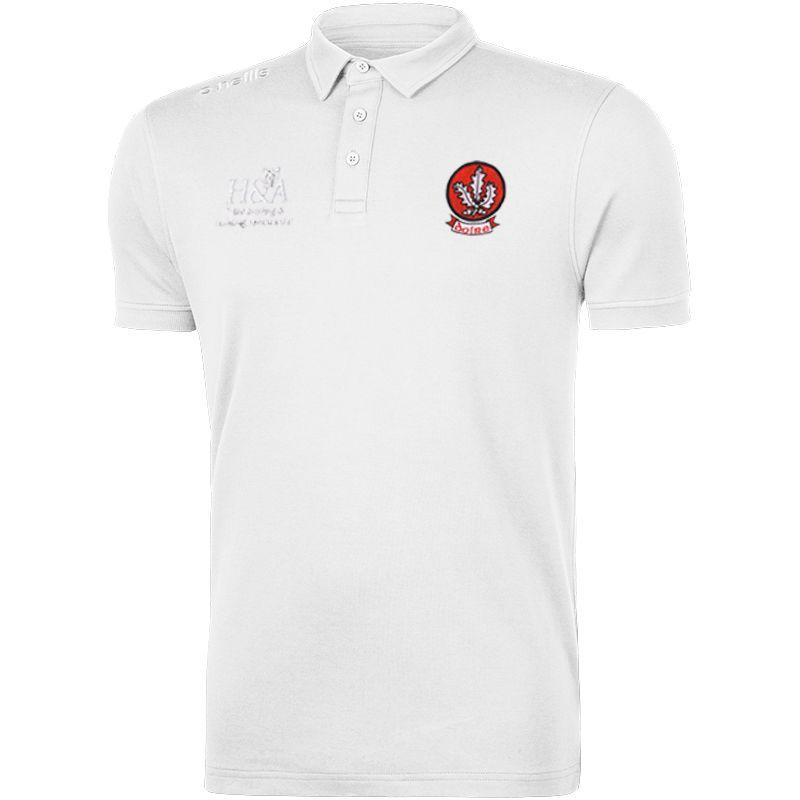 Derry GAA Pima Cotton Polo (White)