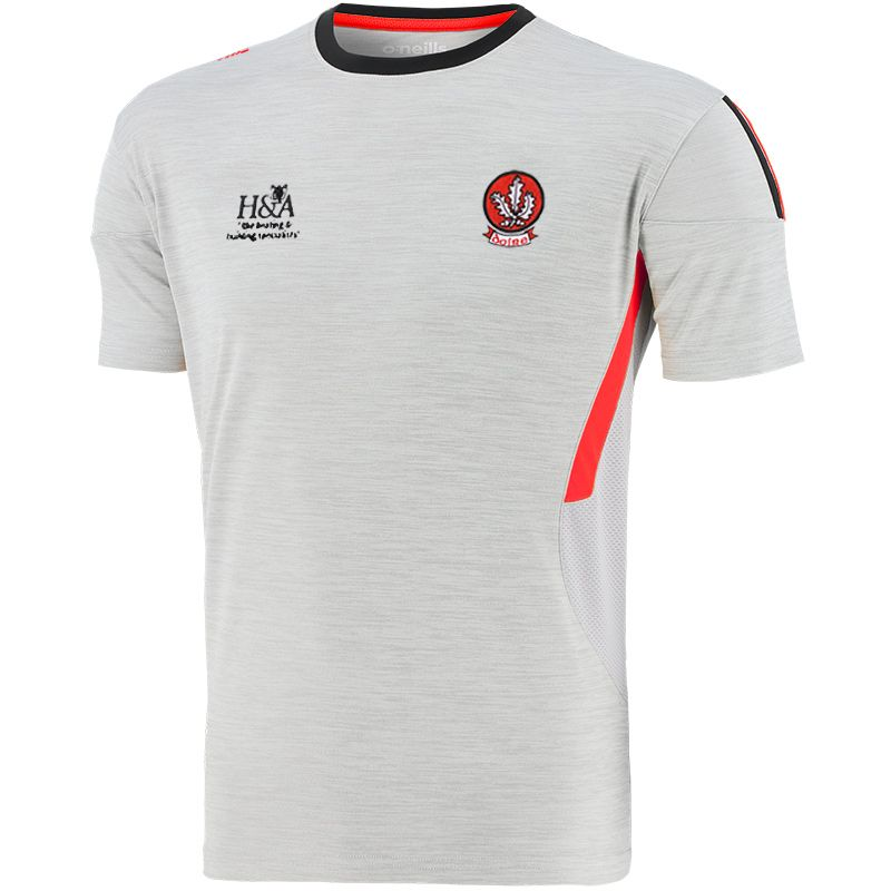 Derry GAA Men's Raven T-Shirt Silver / Red / Black