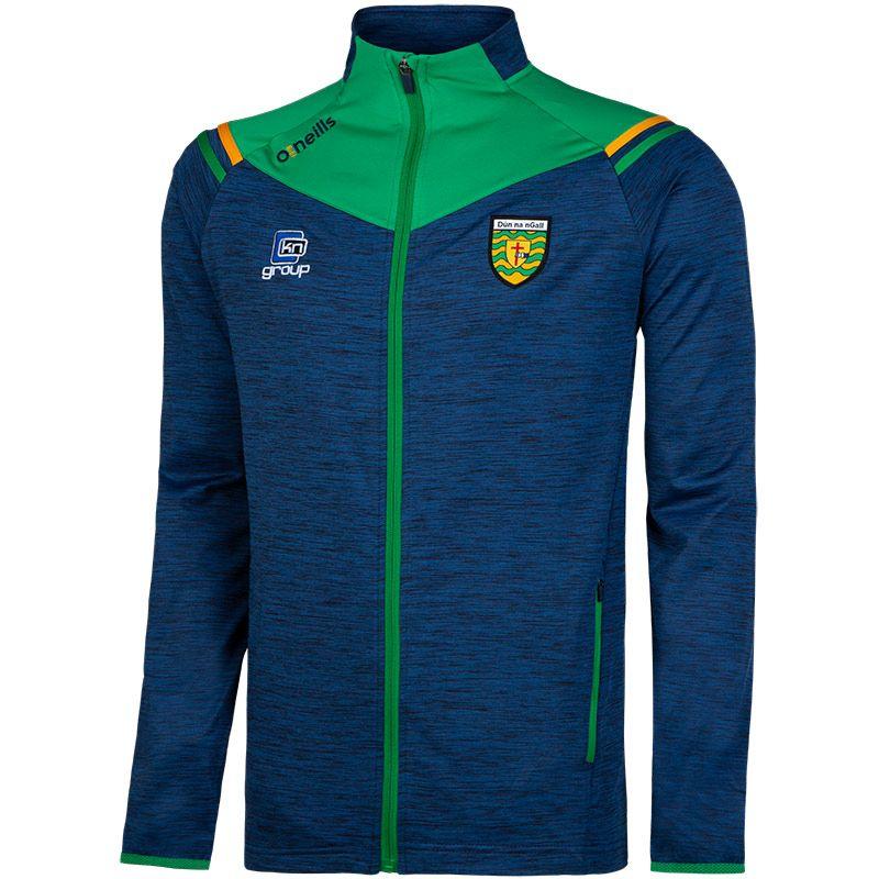 Donegal GAA Colorado 2S Brushed Jacket (Melange Tonal Marine/Emerald/Amber)