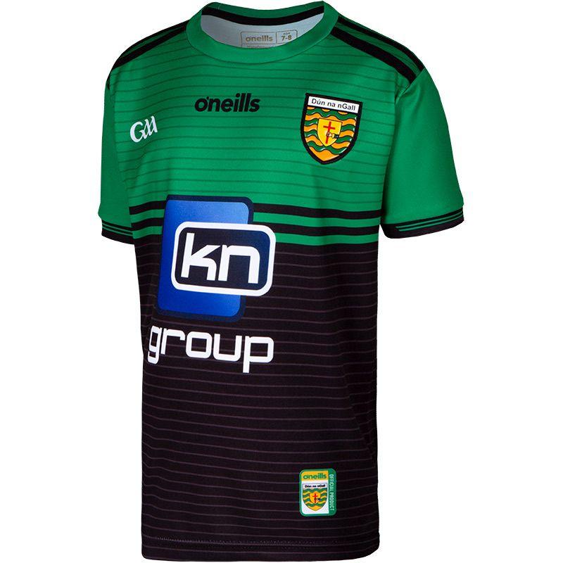Donegal GAA Kids' 2 Stripe Goalkeeper Jersey