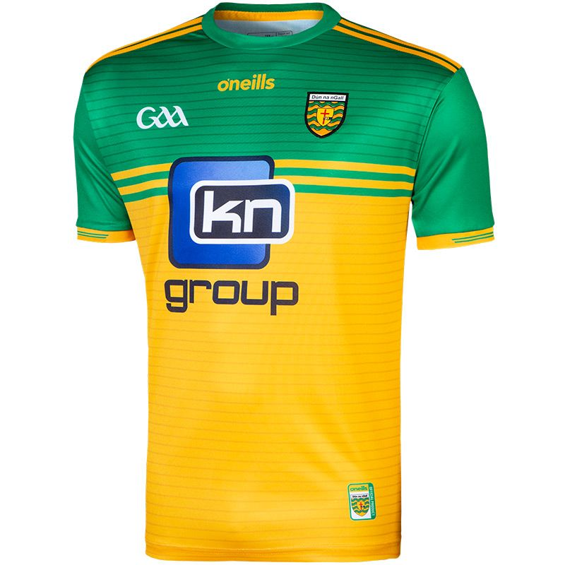 Donegal GAA Player Fit 2-Stripe Home Jersey