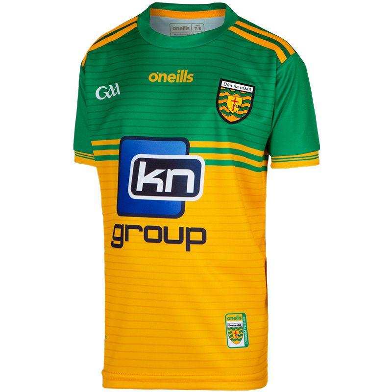 Donegal GAA 2-Stripe Kids' Home Jersey