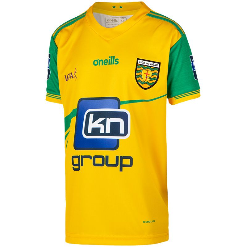 Donegal LGFA Kids' 2-Stripe Jersey 2019