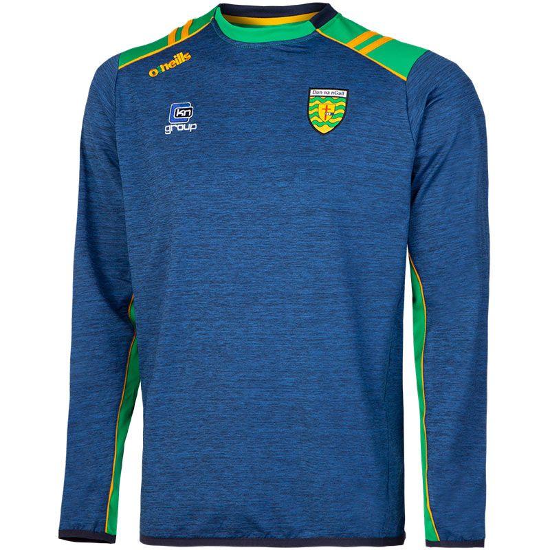 Donegal GAA Kids' Manor Sweatshirt Marine / Green / Amber