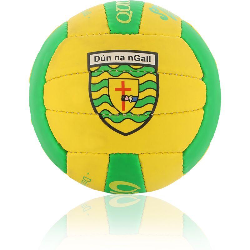 Donegal GAA All Ireland Mini Gaelic Football Amber / Emerald