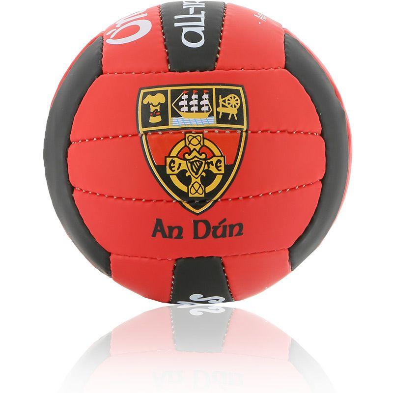 Down GAA All Ireland Mini Gaelic Football Red / Black