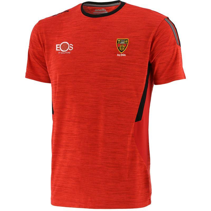 Down GAA Kids' Raven T-Shirt Red / Black / Dark Grey