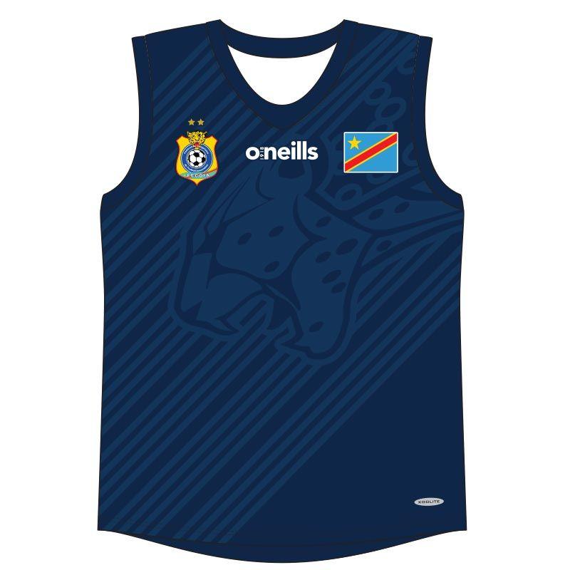 Democratic Republic of Congo Soccer Vest (Navy)