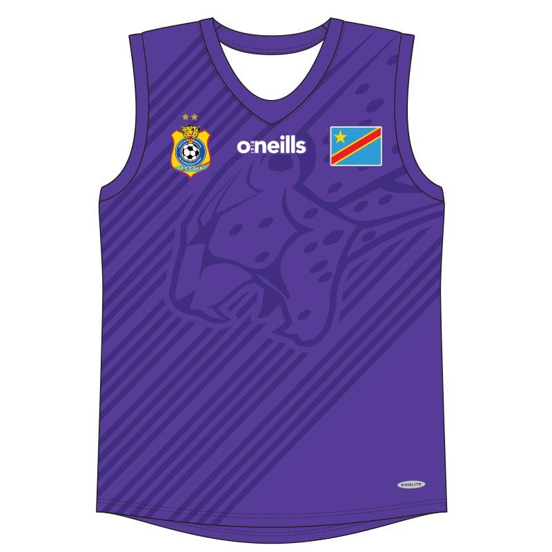 Democratic Republic of Congo Kids' Soccer Vest