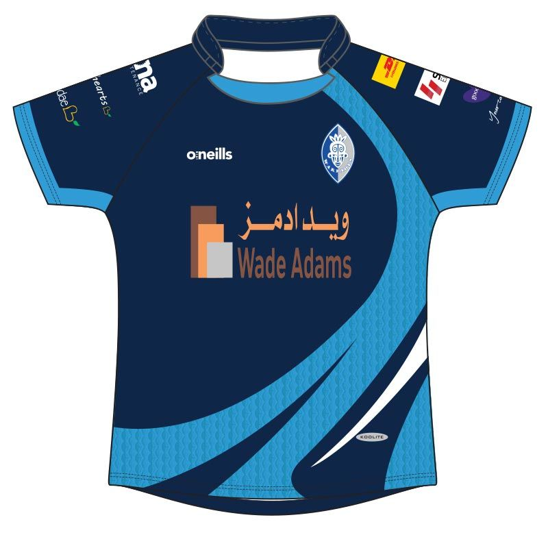 Dubai Warriors Rugby Jersey (Ladies Fit)