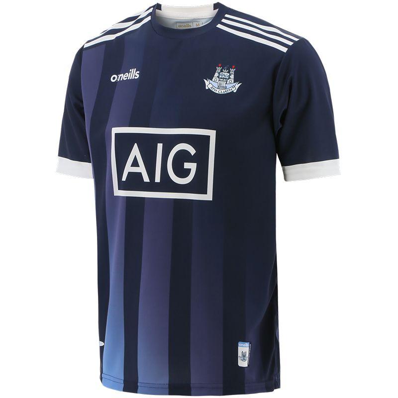 Dublin GAA Short Sleeve Training Top Marine / Sky
