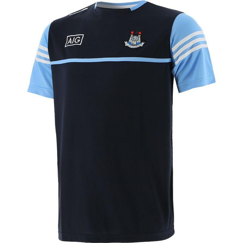 Dublin GAA Men's Bolton T-Shirt Marine / Sky / White