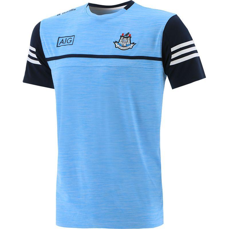 Dublin GAA Men's Bolton T-Shirt Sky / Marine / White