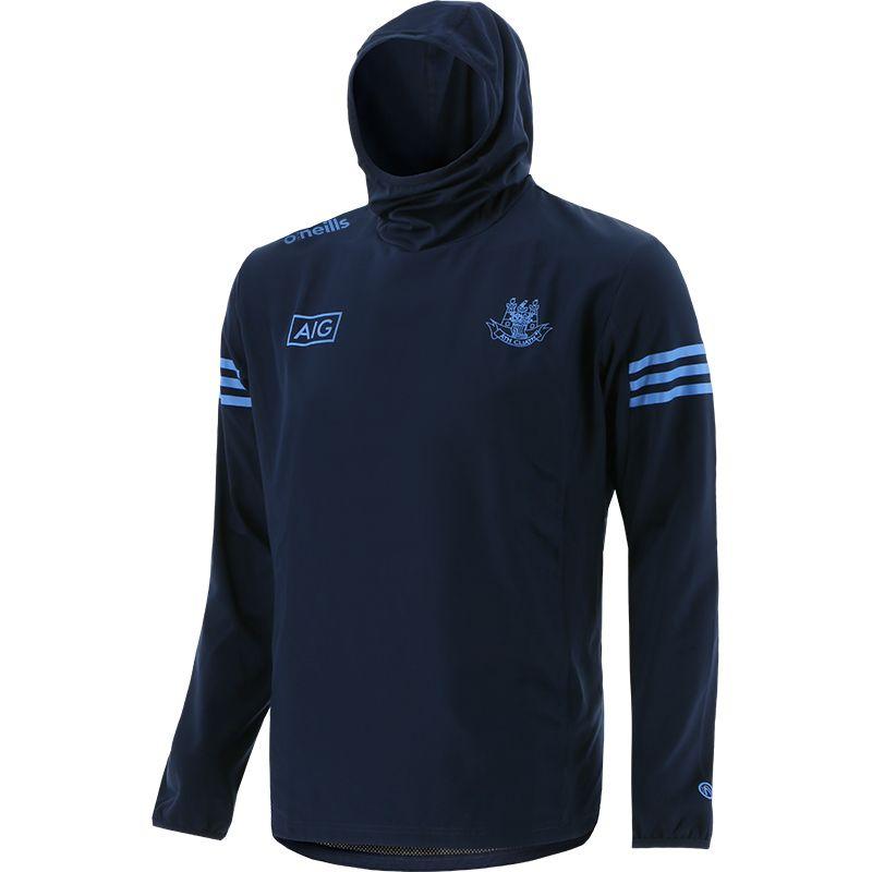 Dublin GAA Men's Bolton Brushed Snood Hoodie Marine / Sky