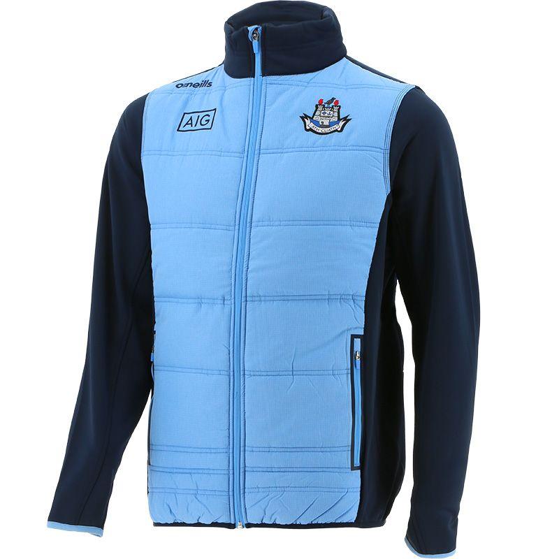 Dublin GAA Men's Bolton Padded Jacket Sky / Marine