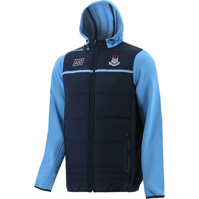 Dublin GAA Men's Bolton Light Weight Padded Jacket Marine / Sky