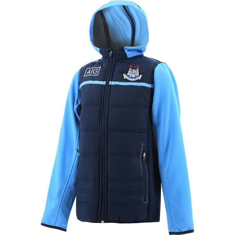 Dublin GAA Kids' Bolton Light Weight Padded Jacket Marine / Sky