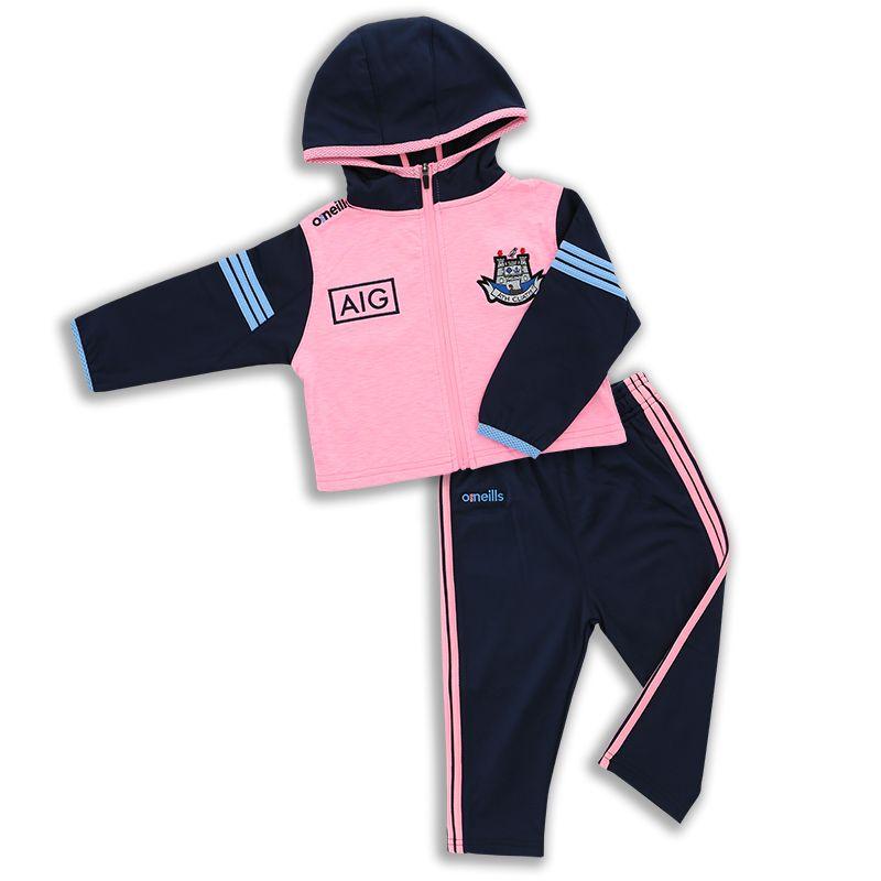 Dublin GAA Kids' Bolton Brushed Infant Suit Pink / Marine / Sky