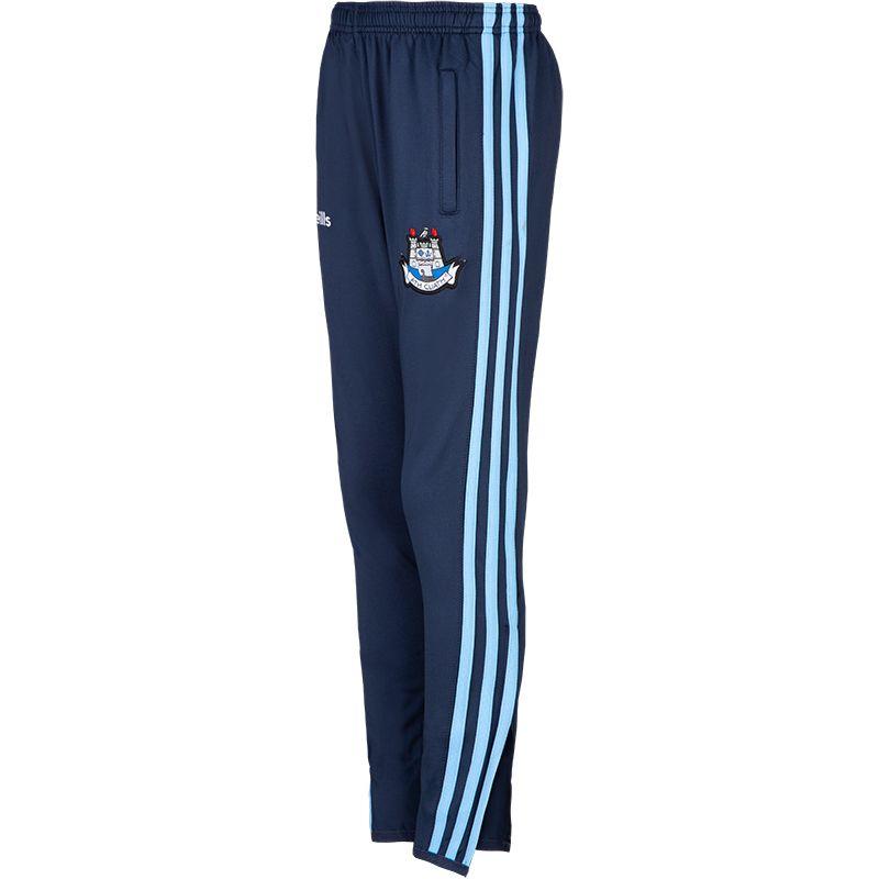 Dublin GAA Kids' Dawson Brushed Skinny Pants 3S Marine / Sky / White