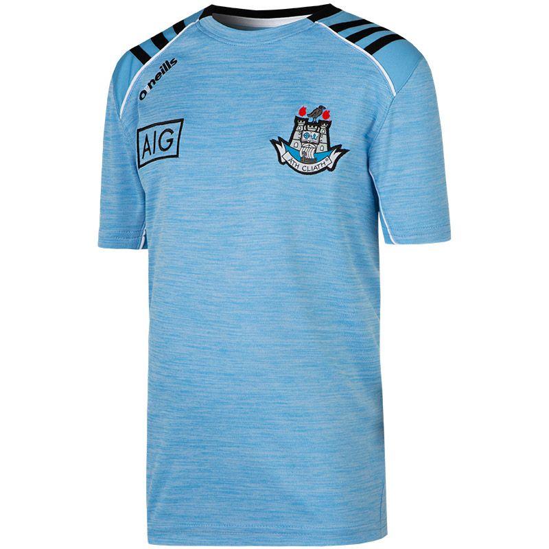Dublin GAA Kids' Dawson T-Shirt 3S Sky / Black / White