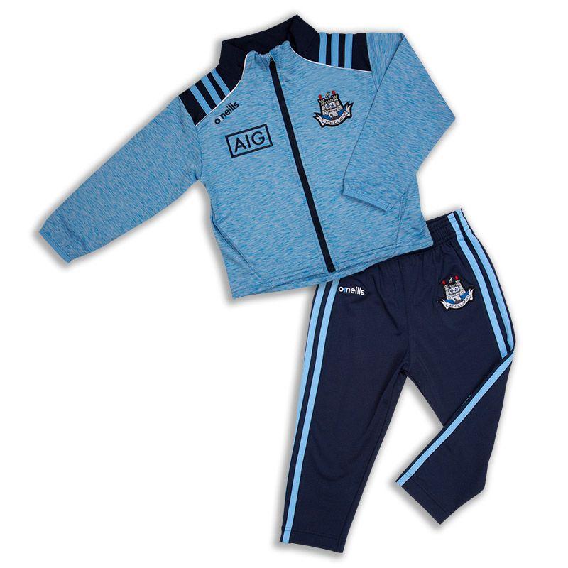 Dublin GAA Dawson Brushed Infant Suit 3S Sky / Marine / White
