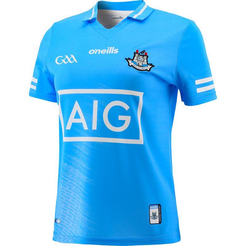 Dublin GAA Women's Fit 2 Stripe Home Jersey