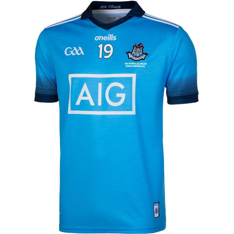Dublin GAA All Ireland Football Champions 2-Stripe Jersey 2019