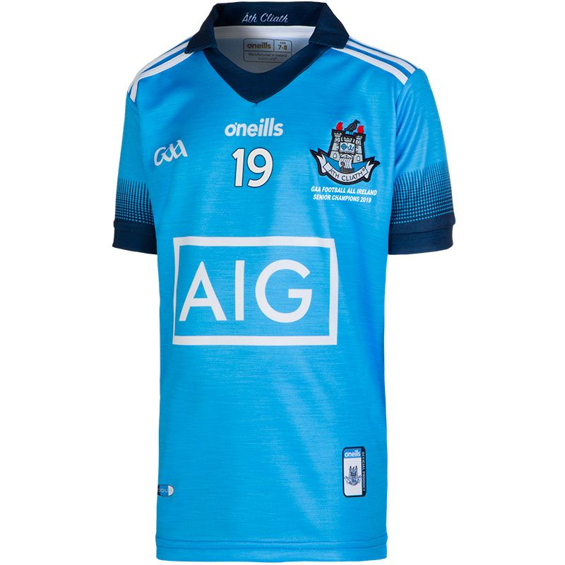 Dublin GAA Kids' All Ireland Football Champions Jersey 2019