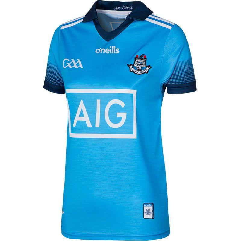 Dublin GAA Womens Fit 2-Stripe Jersey