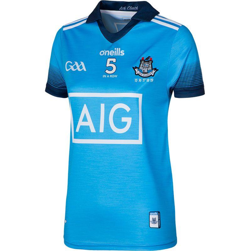 Dublin GAA Womens Fit 5 In A Row Jersey