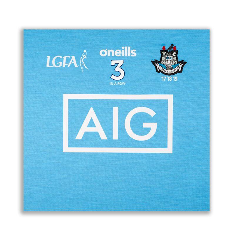 Dublin LGFA 3 in a Row Jersey Square
