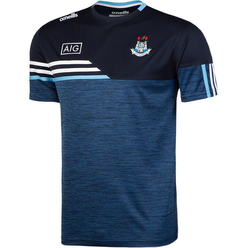 Dublin GAA Men's Nevis T-Shirt Marine / White / Sky