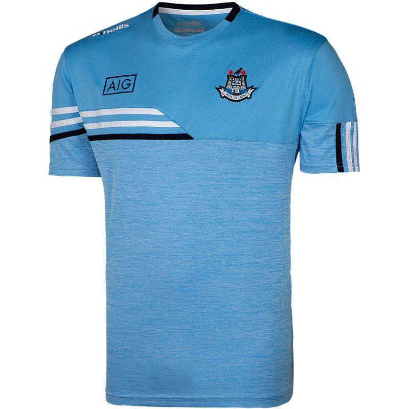 Dublin GAA Kids' Nevis T-Shirt Sky / White
