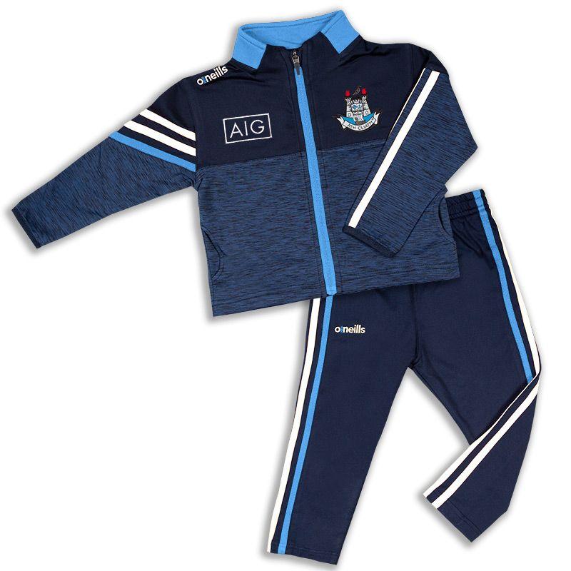 Dublin GAA Kids' Nevis Brushed Infant Suit Marine / White / Sky