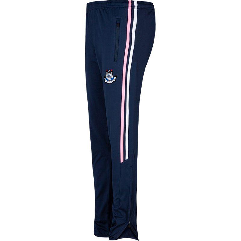 Dublin GAA Kids' Nevis Brushed Skinny Pants Marine / White / Pink