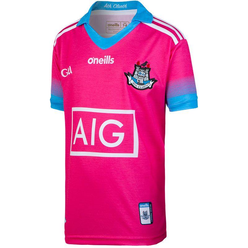 Dublin GAA Kids' Pink Jersey