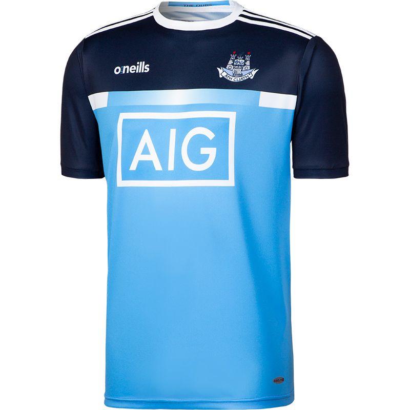 Dublin GAA 2-Stripe Training Short Sleeve Top