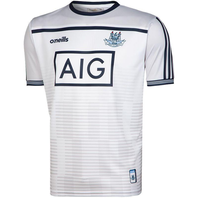 Dublin GAA Kids' Short Sleeve Training Top (White)